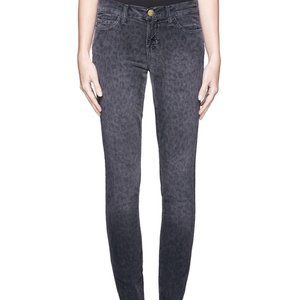 Current Elliot black leopard print jeans sz 29